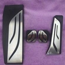 DEE Gas Footrest Modify Pedal Pad Accessory For BMW New 1 2 3 4 5 6 7 Series GT X3 X4 Z4 F30 F31 F34 Manual Decoration Stickers