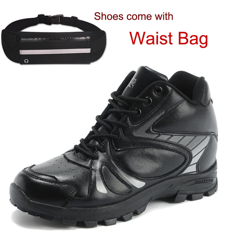 High Quality Mens Trendy Casual Height Increasing Elevator Outdoor Shoes Lightweight Breathable High 8cm