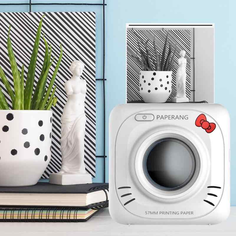PAPERANG P1 ミニ Bluetooth 4.0 熱画像をフォト電話ポケットプリンタ携帯電話 ios アンドロイド窓
