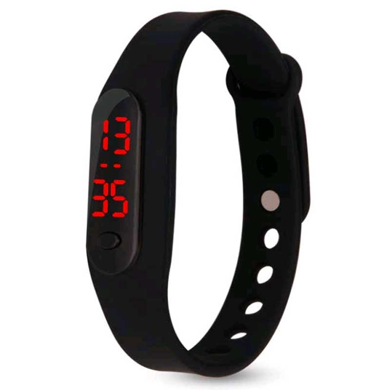Fashion Mini Bracelet Children Watch Boy Girl Students Gifts Wristwatch Silicone Led Digit Watchees