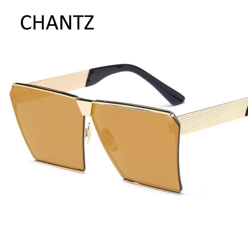 2017 Nueva Gafas de Sol Cuadradas Diseñador de la Marca de Lujo - Accesorios para la ropa