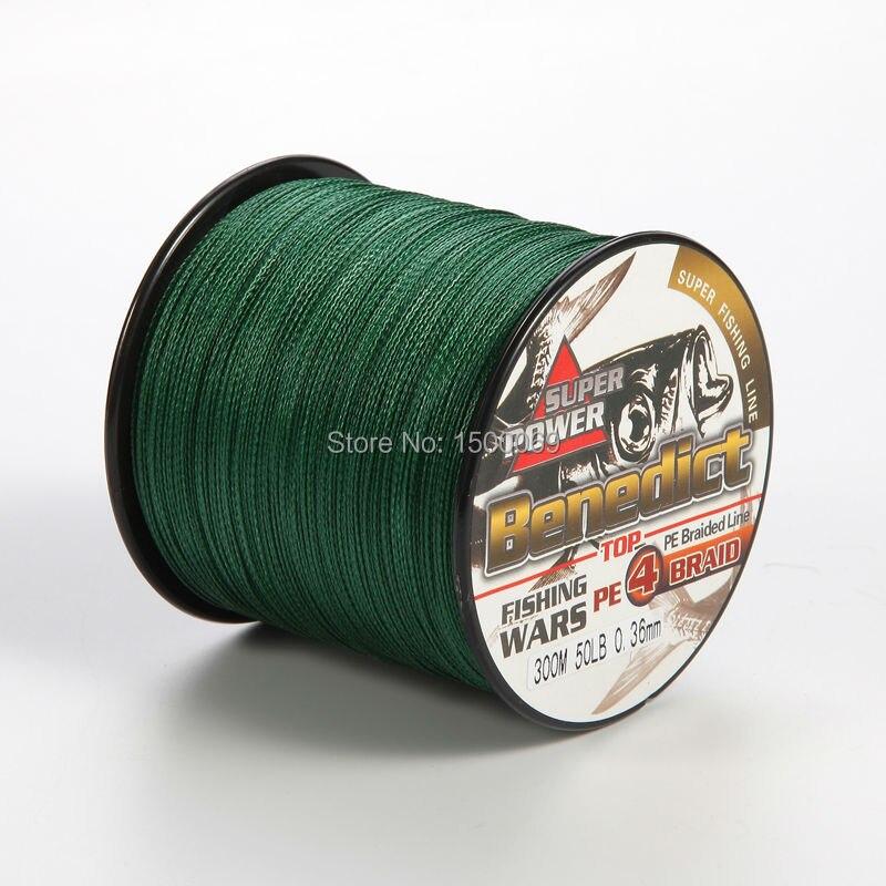 4strands 300M green