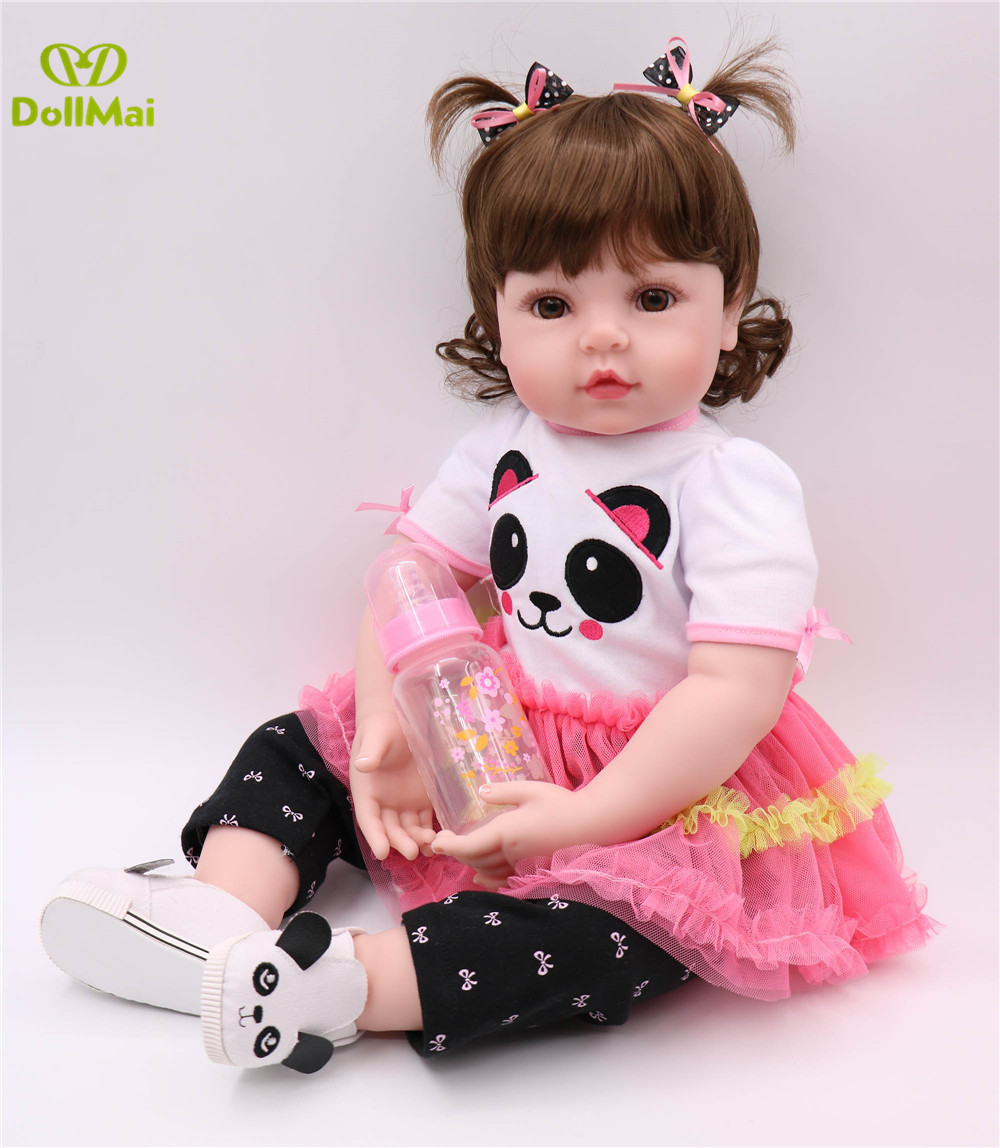 60cm Silicone Reborn Baby Doll Toys 24inch Vinyl Princess Toddler Girl Babies Doll High Quality bebe gift reborn bonecas60cm Silicone Reborn Baby Doll Toys 24inch Vinyl Princess Toddler Girl Babies Doll High Quality bebe gift reborn bonecas