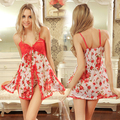 Sexy Babydoll Teddy Lingerie Pijamas Pijamas Roupa Interior Vestido Night Dress #9133