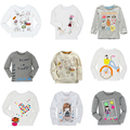 Autumn Winter 100% Cotton New Cartoon T-shirt Kids Long Sleeve T Shirts Boys Girls Baby Tees Tops Children's Clothing
