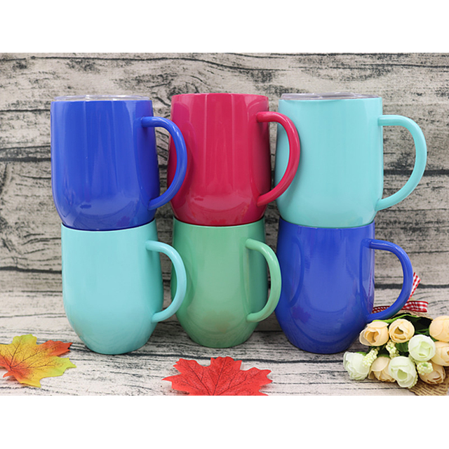 aafbbb7fa58 9oz swig cups stemless wine glass double wall stainless steel vacuum  insulated swig mug with lid and handle drinking coffee tea