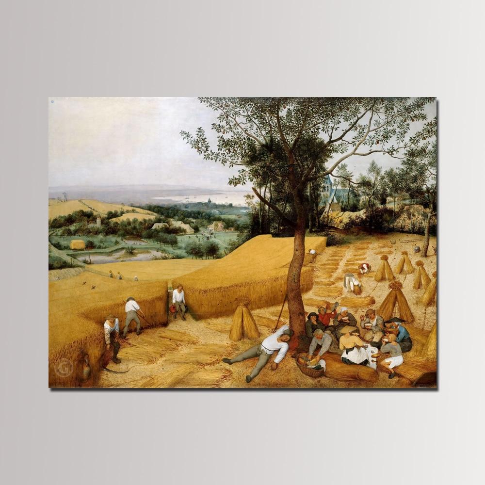 1 Piece Unframed World Famous Oil Painting Pieter Brueghel