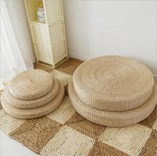 Natural Straw Meditation Floor Cushion