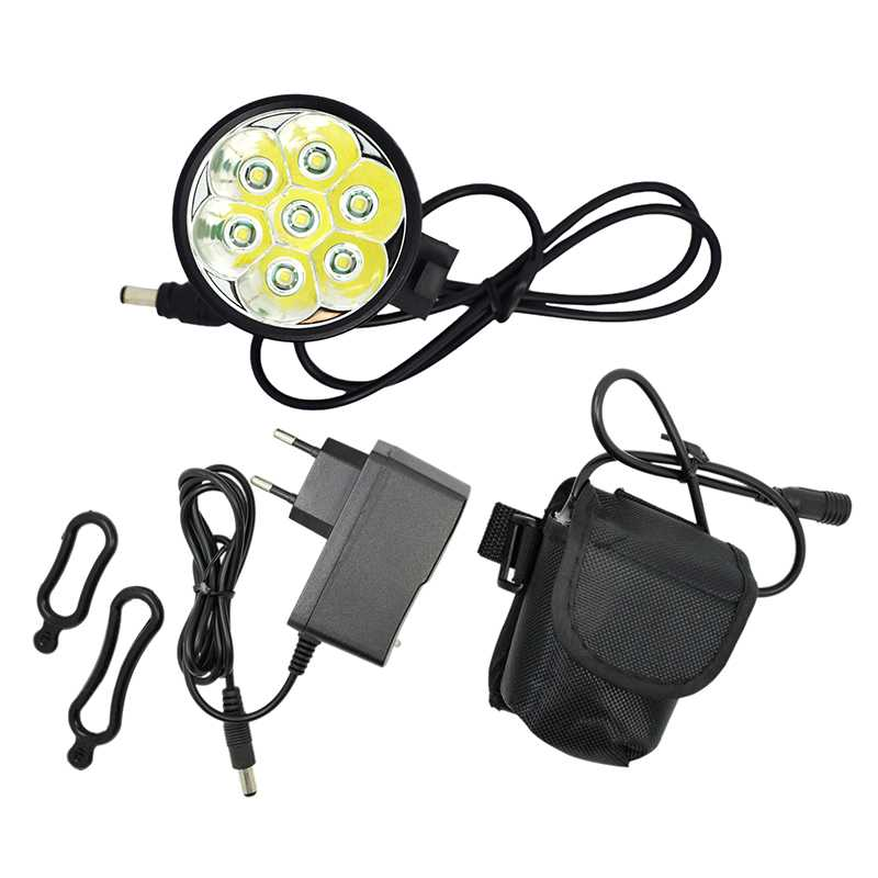 WasaFire 7* XML T6 10000lm LED Bicycle Lamps Front Bike Light Cycling Frontlight Flashlight 18650 Battery Pack Fishing Headlight sitemap xml page 7