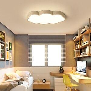 Image 5 - Luces LED de techo blancas/rosas/azules para habitación de niños, decoración para el hogar, lámpara de techo, accesorios de iluminación para habitación de niño y niña