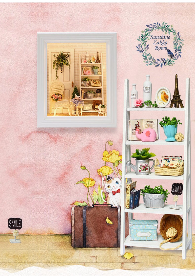 Sunshine Zakka DIY Frame Miniature Room