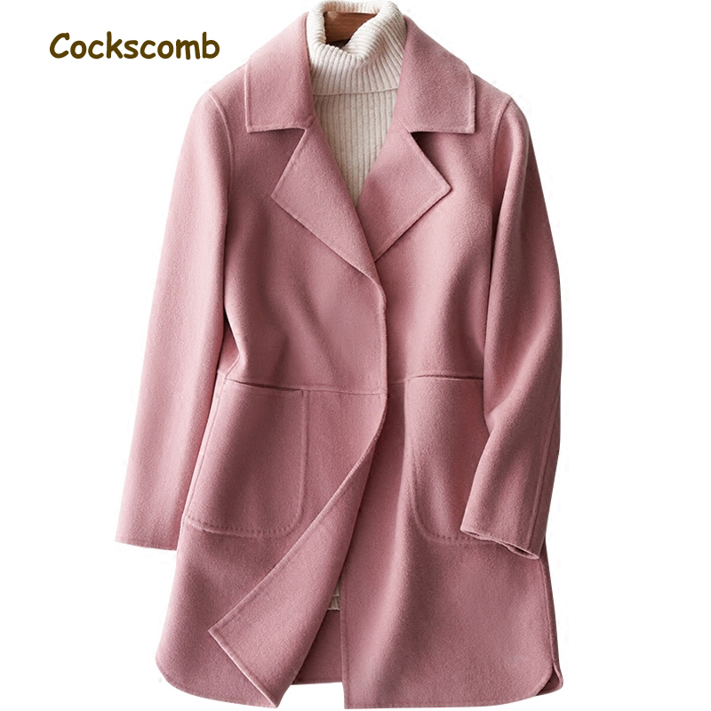 Compare Prices on Women Winter Pure Wool Cashmere Coats- Online ...
