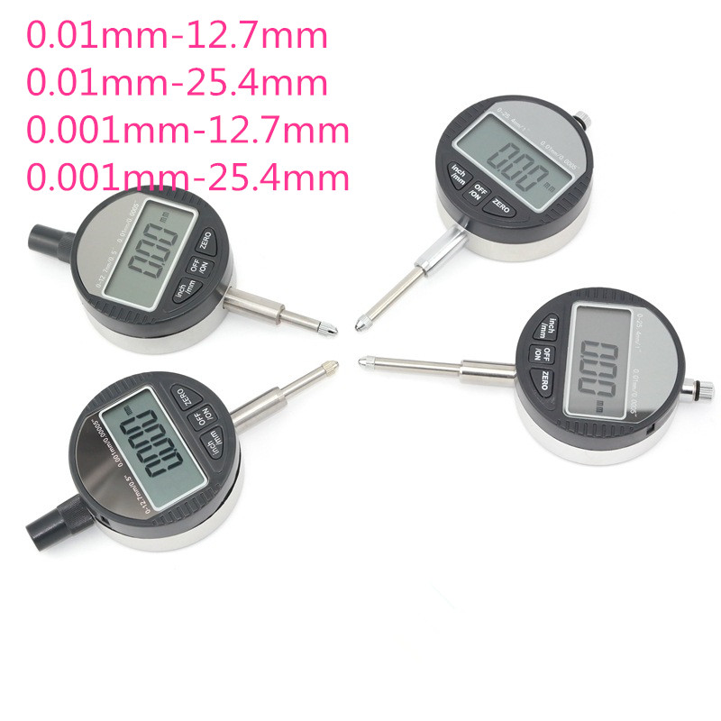 Dial Indicator Gauge Measuring Tools Electronic Micrometer Digital Micrometro Metric/Inch 0.01mm 0.001mm 0-12.7mm 0-25.4mm 0 12 7mm 0 5 dial indicator inch mm electronic micrometer 0 01mm digital micrometro with data ouput port
