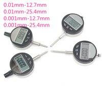 Messuhr Mess Werkzeuge Elektronische Mikrometer Digital Micrometro Metric/Inch 0 01mm 0 001mm 0 12 7mm 0 25 4mm-in Mikrometer aus Werkzeug bei