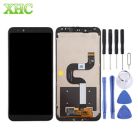 For Xiaomi Mi 6X / A2 Smartphone LCD Screen Digitizer Full Assembly with Frame for Xiaomi Mi 6X / A2