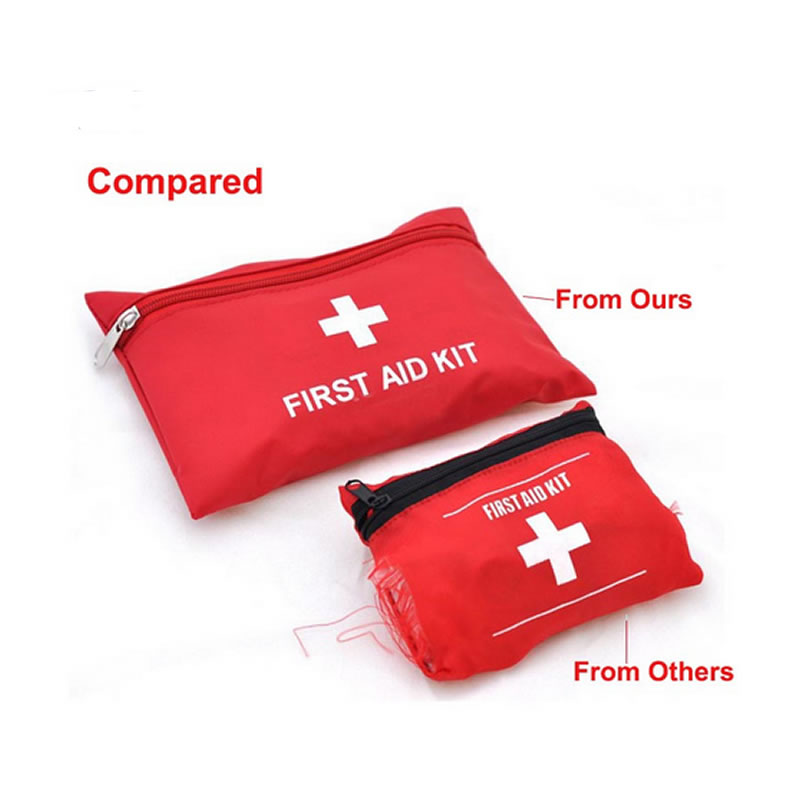 Image 3 - Mini Waterproof Portable Outdoor First Aid Kit EVA Bag For Emergency Treatment In Travel And At Home-in Emergency Kits from Security & Protection