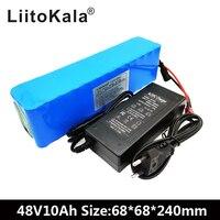 LiitoKala e bike battery 48v 10ah li ion battery pack bike conversion kit bafang 1000w and charger
