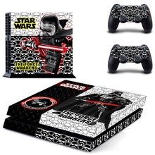 PVC Design Anime Star Wars PS4 Sticker For Sony Playstation 4 Console+2 controller Skin Sticker For PS4 Skin
