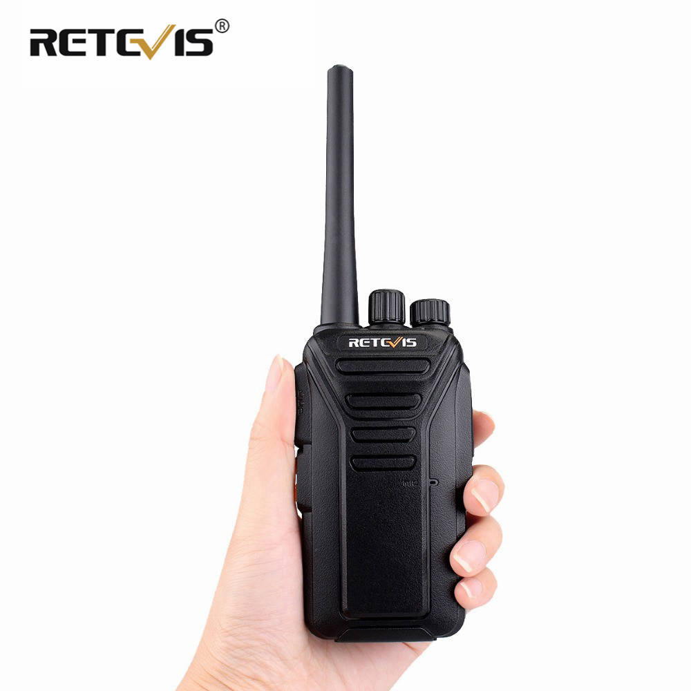 1pc Retevis RT27 Walkie Talkie Licence-free Radio PMR/FRS PMR446 UHF 16/22CH VOX Scrambler Portable Two-Way Radio Transceiver