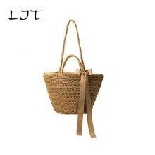 Pure Handmade Straw Beach Bag