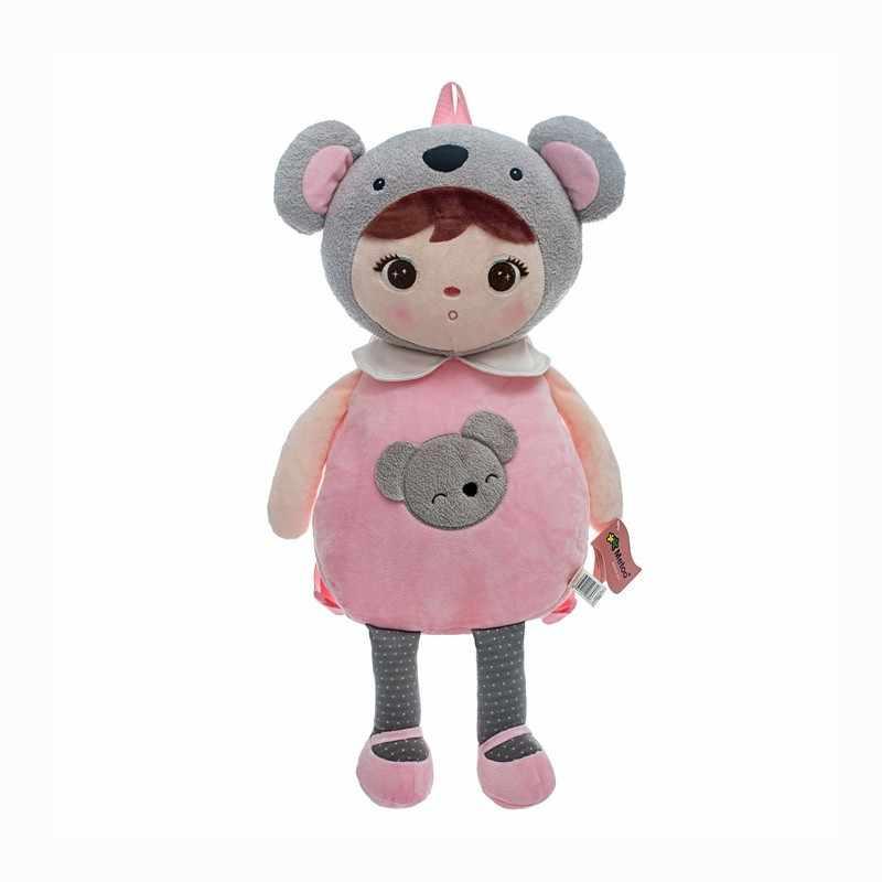 ใหม่ Kawaii เด็กทารกการ์ตูนกระเป๋าเป้สะพายหลังหญิงน่ารัก Koala แพนด้ากระเป๋าเด็กผู้ใหญ่กระเป๋าเด็กวัยหัดเดินน่ารักของเล่น Metoo