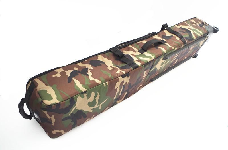 2017 New High-capacity Single Board Double Ski Bag 160CM Pulley Backpack Back Can Be Dragged Ski Bag A4789 цена