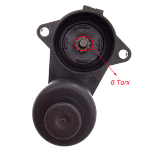 Image 2 - 6/12 Torx tekerlekli el freni fren kaliper Servo Motor 3C0998281A 3C0998281B 32330208 3C0998281 VW Passat B6 B7 Tiguan Audi Q3