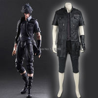 Final Fantasy XV Noctis Lucis Caelum Coplay Costume Adult Men Anime Game Cosplay Costume Black Jacket
