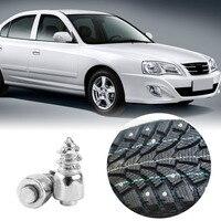 100 Pcs Tire Stud Screw 9mm Anti Slip Screw Stud Tyre Snow Chains Tire Spikes Trim