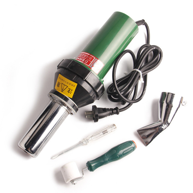 Welding PVC Hot Air Plastic Welder Torch Auto Parts Supply PP Plastic Hot  Air Gun 2000W Ferramentas Manuais-in Plastic Welders from Tools on