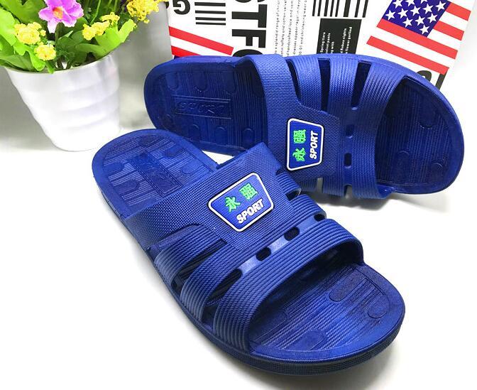 Летние Классические сандалии Для мужчин легкие Твердые Цвет Нескользящие сандалии Открытый пляжная обувь большой Размеры 192