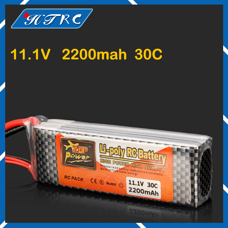 ZOP Lithium RC Lipo Drone Battery 11.1V 2200Mah 3S 30C Max 35C XT60 T Plug Bateria Lipo For Helicopter Qudcopter Truck Car Boat