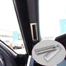 2 pz/set ABS Chrome Un Pilastro Aria Condizionata Vent Trim Per Range Rover Sport Vogue 2014-2017 Accessori Auto