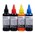400ML Refill Ink kit Universal for Epson Canon HP Brother Lexmark DELL Kodak Inkjet Printer CISS Cartridge Printer Ink 4 PCS
