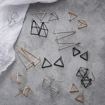 European Minimalist Geometric Earrings 1