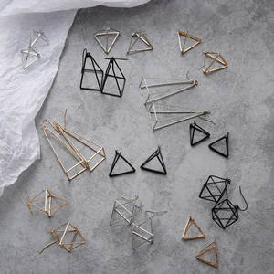 FASHION MOMENT for Women Geometric Brincos Party Jewelry