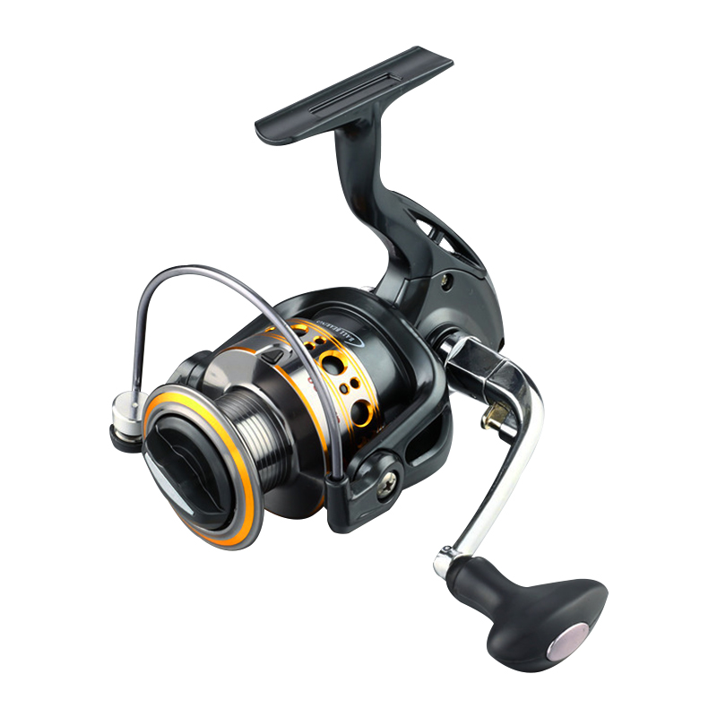 Biggest discount 12 1bb one way clucth spinning for Discount fishing reels