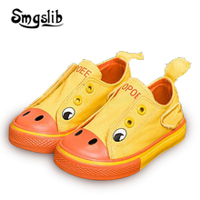 Girls Canvas Shoes Children Cartoon Animal Printing Sneakers 2018 Toddler Spring Infant Shoes Sneakers Boys Loafers Footwear e lov design printing canvas shoes nation flags of austria hand printed austriak austrian loafers shoes
