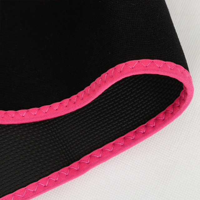 Fitness Waist Protective Trimmer Belt Weight Loss Sweat Band Wrap Fat Burning Tummy Stomach Sauna Sweat Belt 2