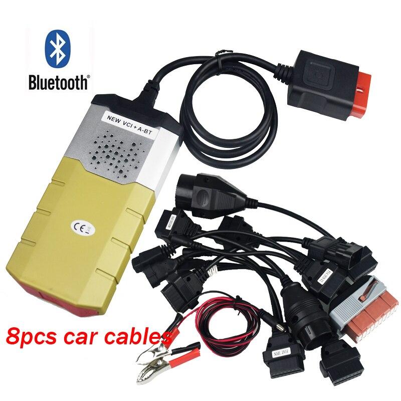 Or TCS CDP PRO Plus Bluetooth 2015. R3 Multidiag pro OBD2 pour voitures camions pour DELPHI DS150E Nouveau VCI