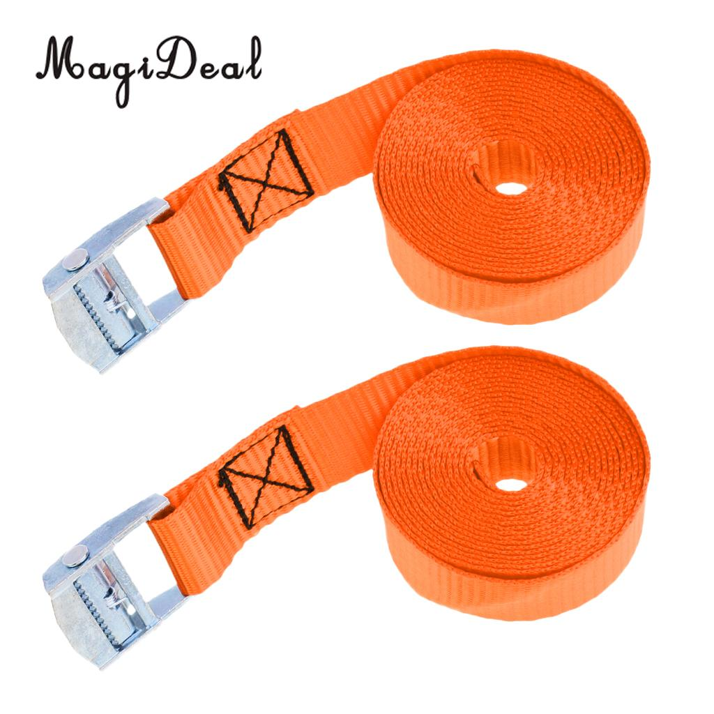 9 Buckled Straps 25mm Cam Buckle 1.5 meters Long Heavy Duty Load Securing