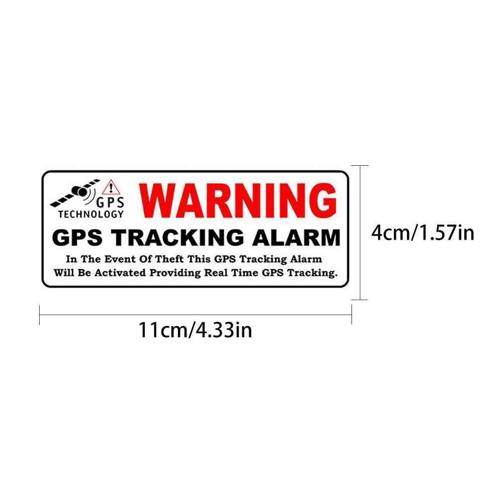 1 Pcs רכב ניטור אזהרת מדבקות אבטחת מערכת מדבקות שריטה אנטי נהיגה מקליט דקורטיבי