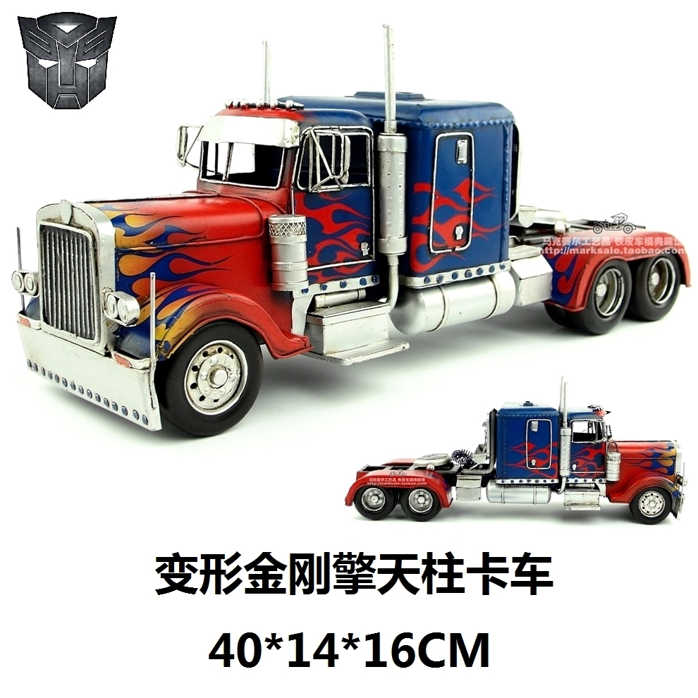 buy hot classic retro american truck model creative movie collection iron. Black Bedroom Furniture Sets. Home Design Ideas