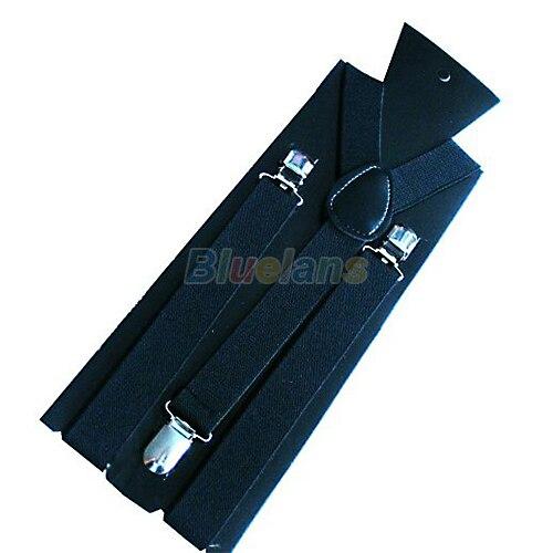 1PC New Mens Womens Unisex Clip-on Suspenders Elastic Y-Shape Adjustable Braces