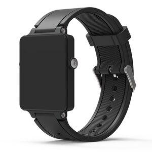 Image 3 - ZENHEO حزام (استيك) ساعة أسورة رياضية من السيليكون حزام الفرقة للغارمين Vivoactive خلات مربط الساعة الاكسسوارات