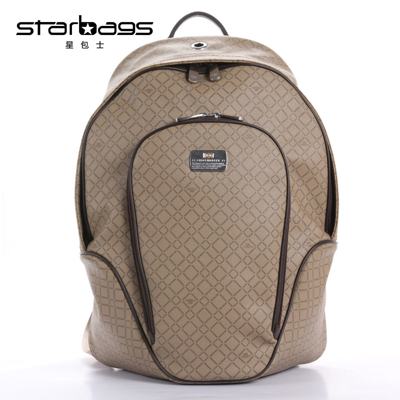 2018 Good quality light waterproof business computer shoulder bag pvc leather backpack2018 Good quality light waterproof business computer shoulder bag pvc leather backpack