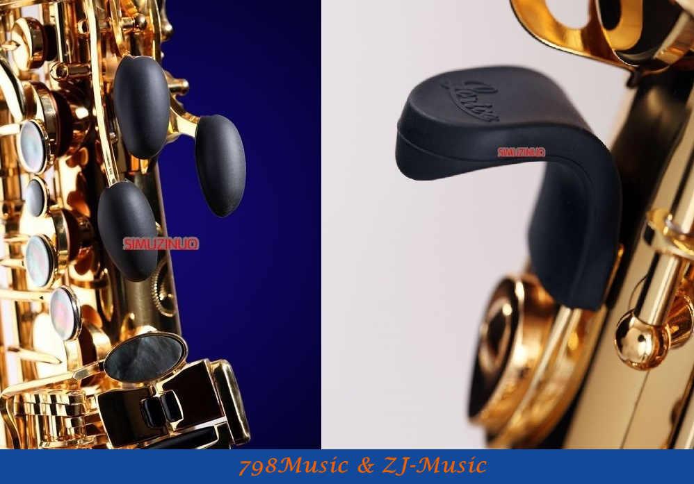 Lorico Saxophonet Thumb Rest-L-S3 and Saxophone Palm Key Risers L-K---Pack of 3 (D, E flat, F)