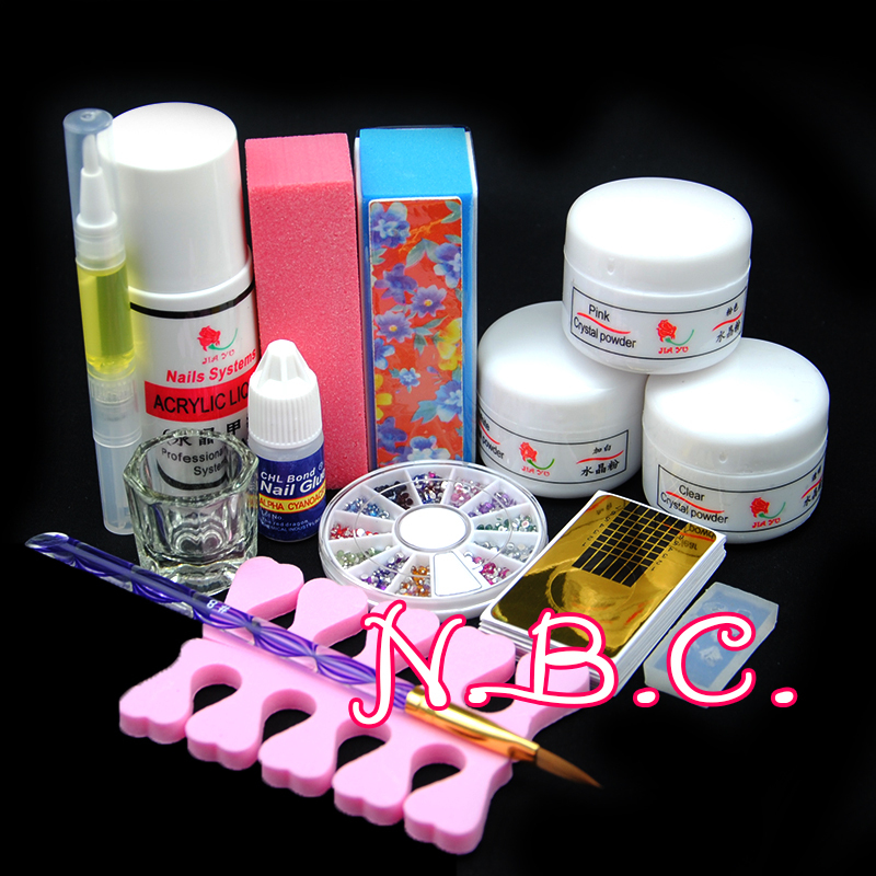 Newest Professional Acrylic Nail Kit 75ml Acrylic Liquid