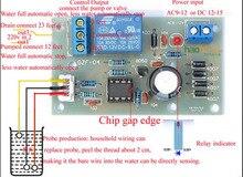 Sıvı seviye kontrolörü sensörü modülü su seviyesi algılama sensörü düşük basınç