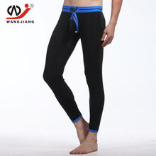 Sexy Long Johns Men Joggers Compression Pants Pantalon Homme Cargotransparent Mallas Hombre Running Modal Jogger